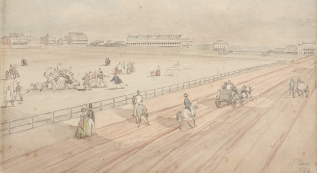1842 view of Hyde Park South