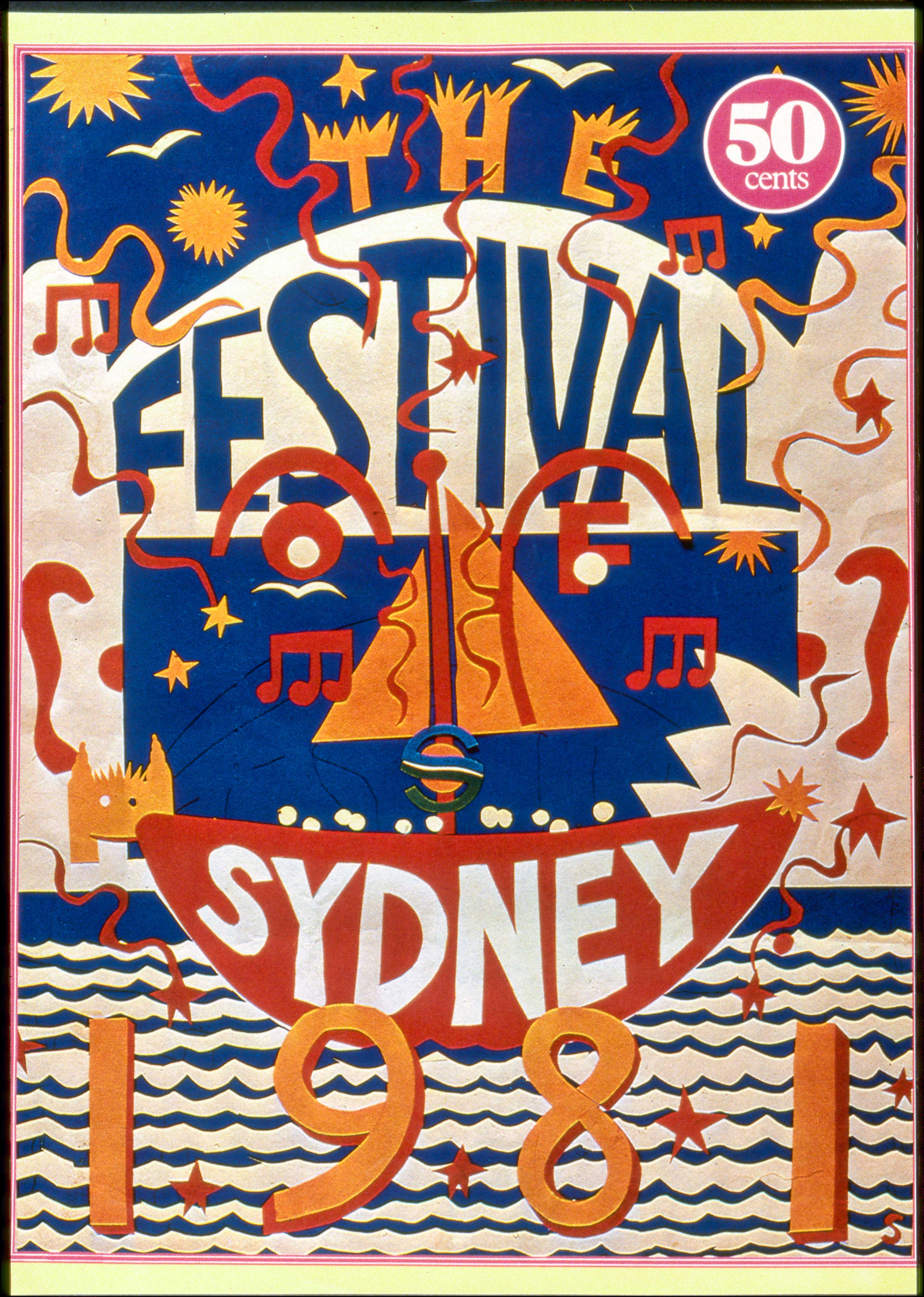 Sydney Festival 1981. City of Sydney Archives.