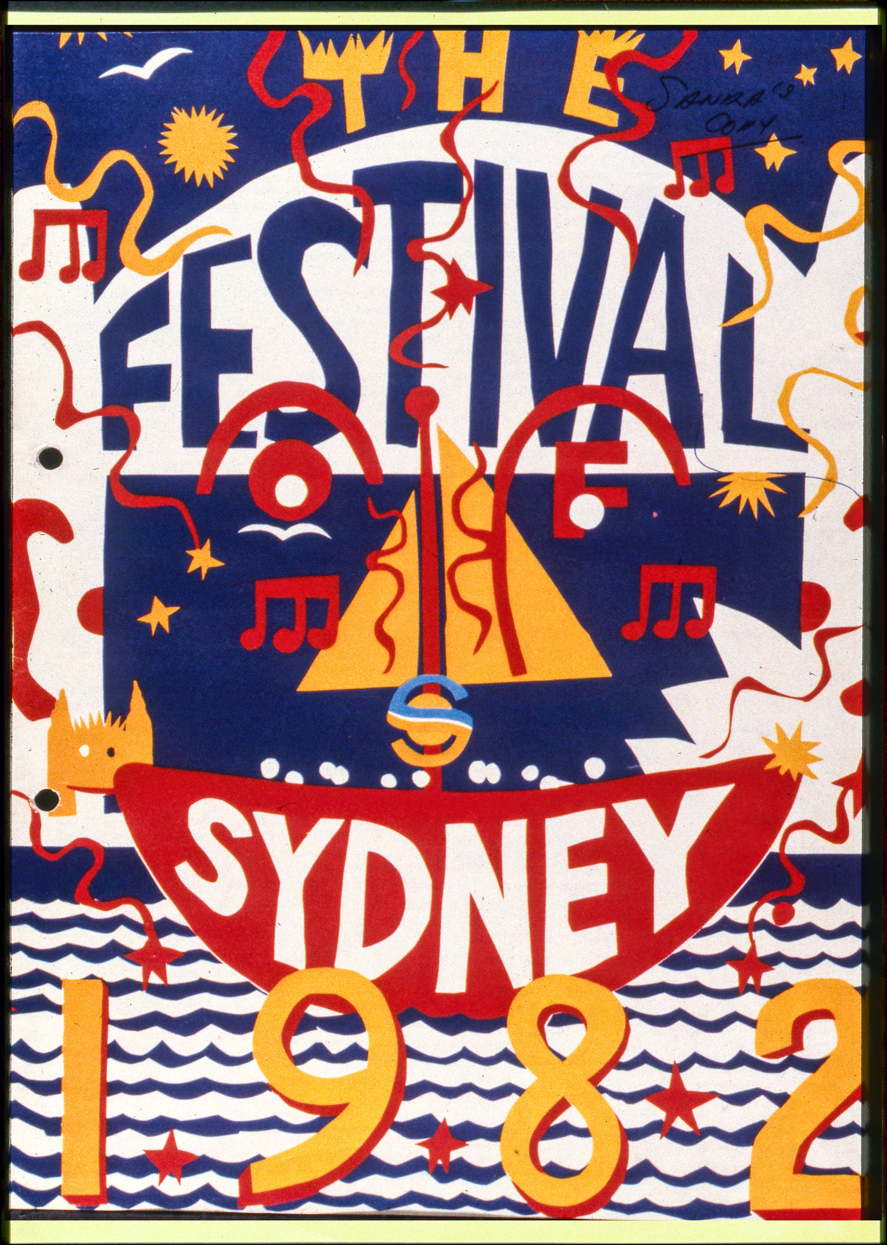 Sydney Festival 1982. City of Sydney Archives.
