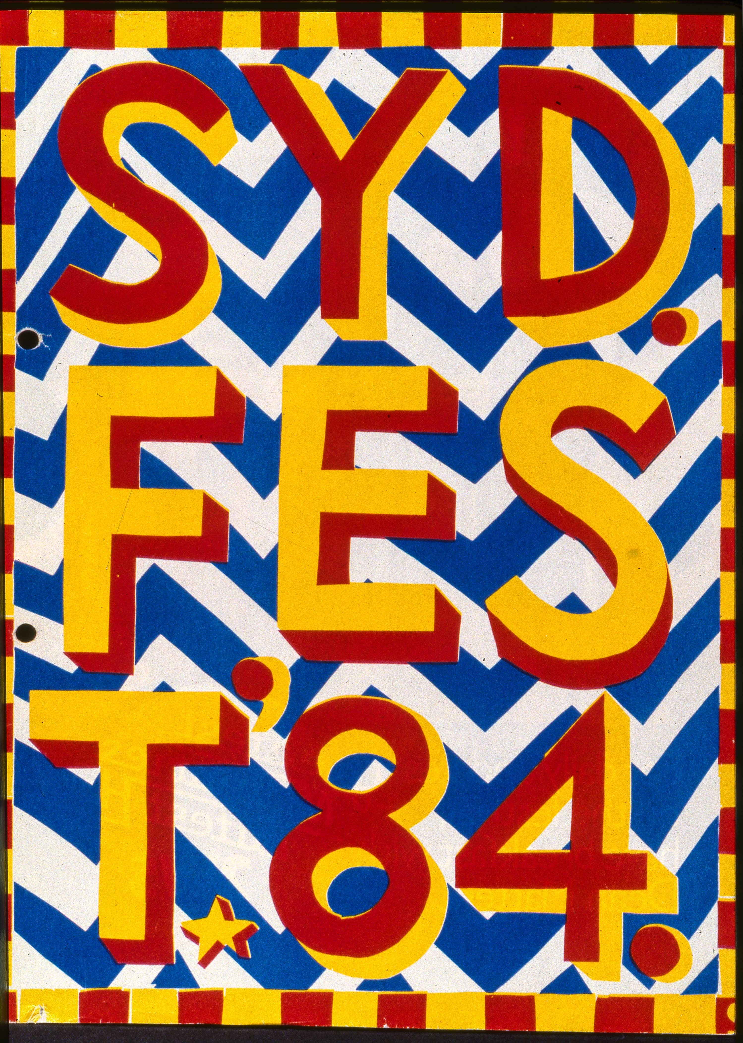 Sydney Festival 1984. City of Sydney Archives.