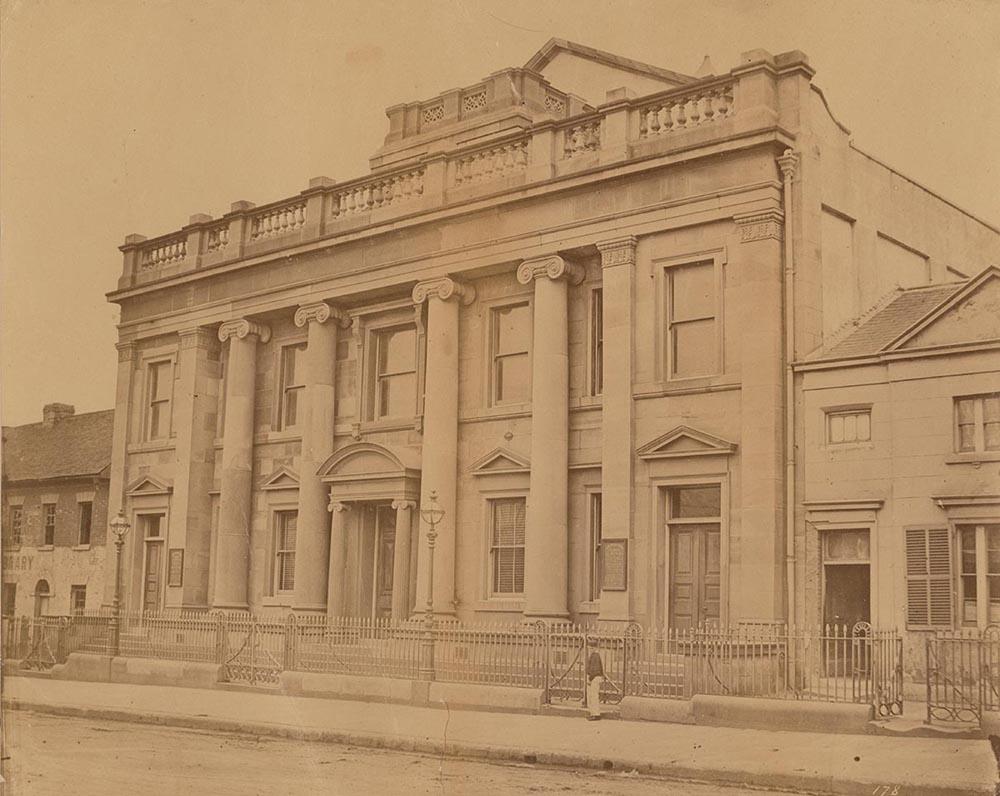 Congregational Church (Pitt Street), 1870 by Charles Pickering