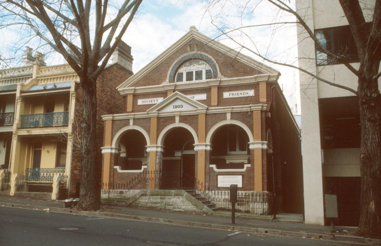 Society of Friends Meeting House 17 June 2000