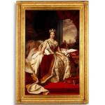 Queen Victoria by Georg Koberwein, 1872 after Franz Winterhalter 1859 oil on canvas. Sydney Town Hall Collection 88-251 Photo Greg Piper