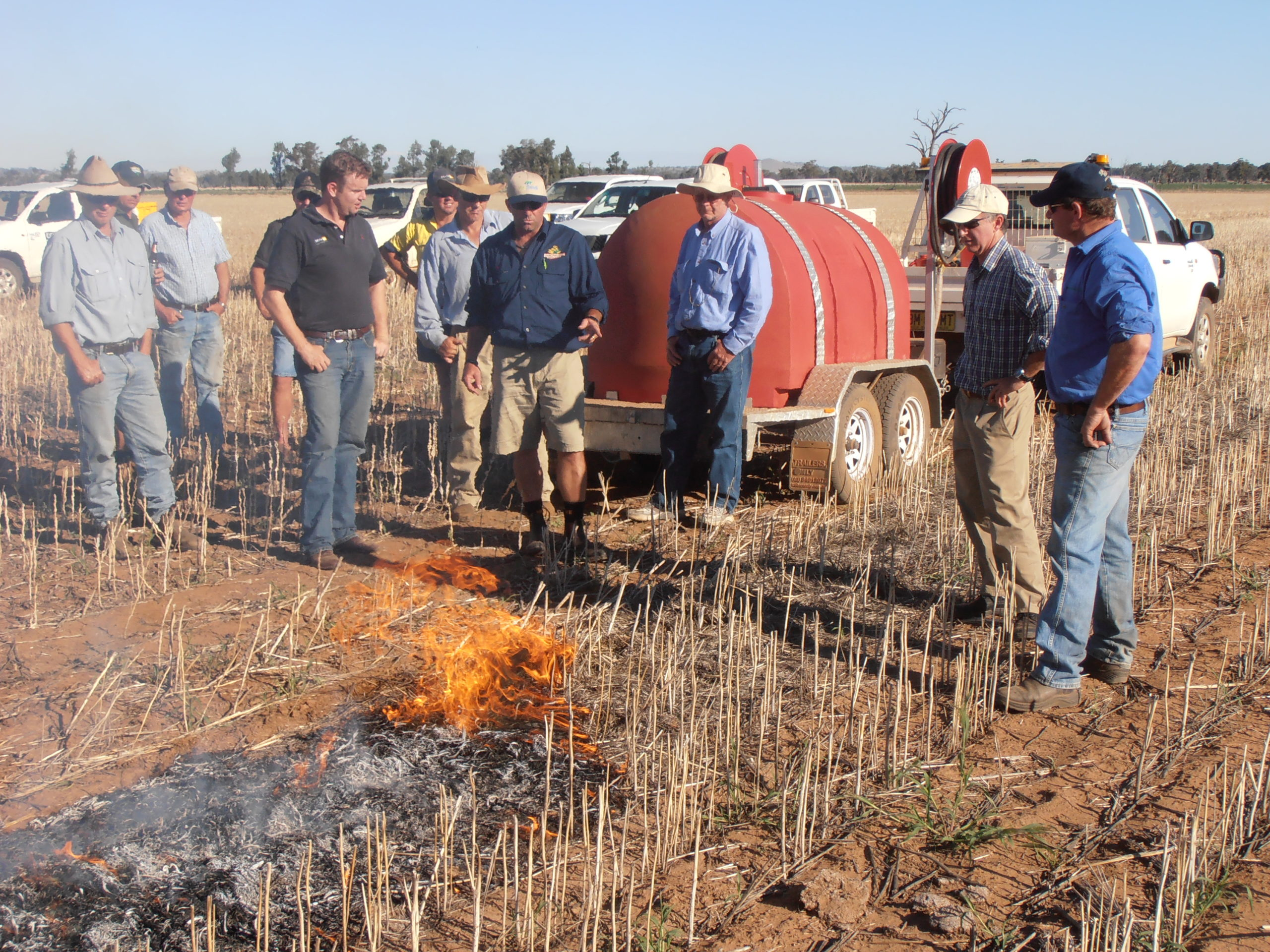 Narrow windrow burning is an effective harvest weed seed control method that growers can implement with minimal up-front costs.