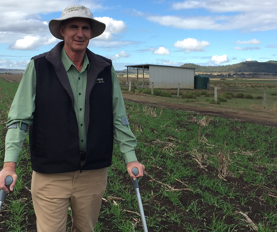 Paul McIntosh, Australian Herbicide Resistance Initiative northern region extension agronomist says there are great opportunities for growers to be creative and to add more diversity to their cropping system—confronting herbicide resistance in weeds head-on with summer crops.
