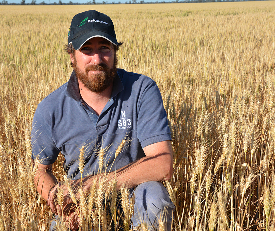 Dr Sam Kleemann says seeder set up and product choice are pivotal decisions when using pre-emergent herbicides to control weeds early in the crop cycle. Photo: Alistair Lawson