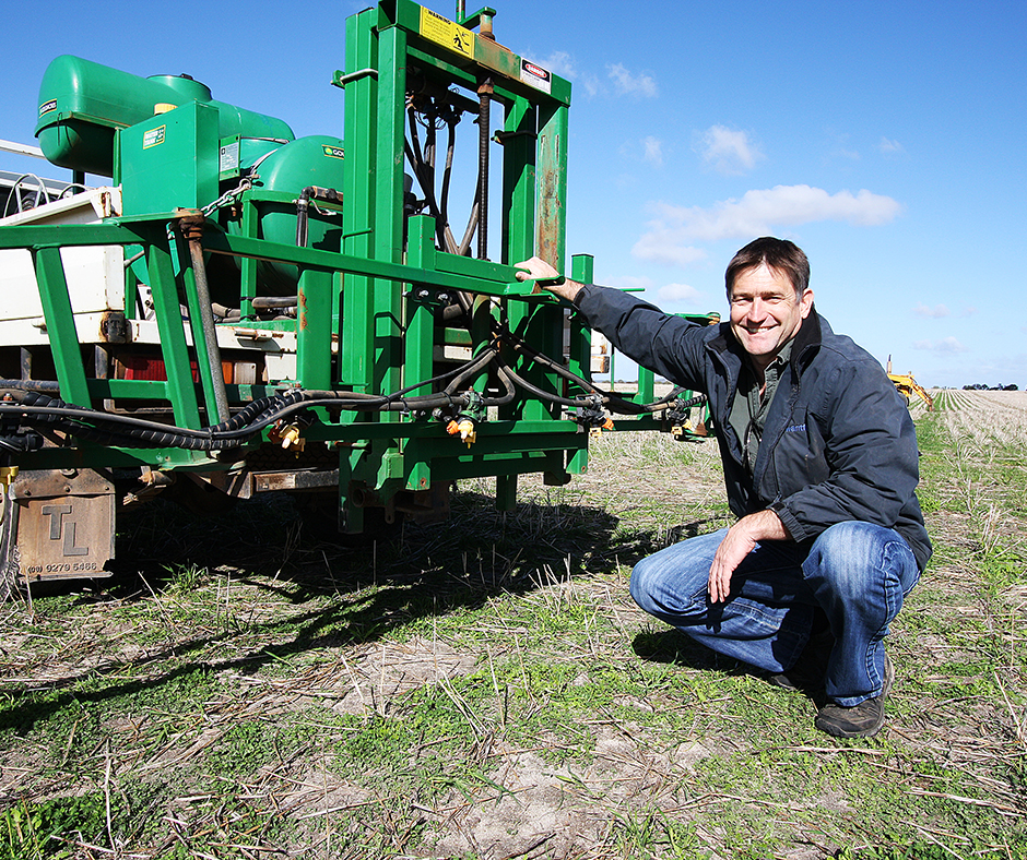 The breakdown patterns of pre-emergent herbicides under a variety of seasonal conditions can affect the efficacy of early and staggered germinations of annual ryegrass. WANTFA executive director Dr David Minkey recommends dry sowing the cleanest paddocks first to minimise the risk of poor weed control results.
