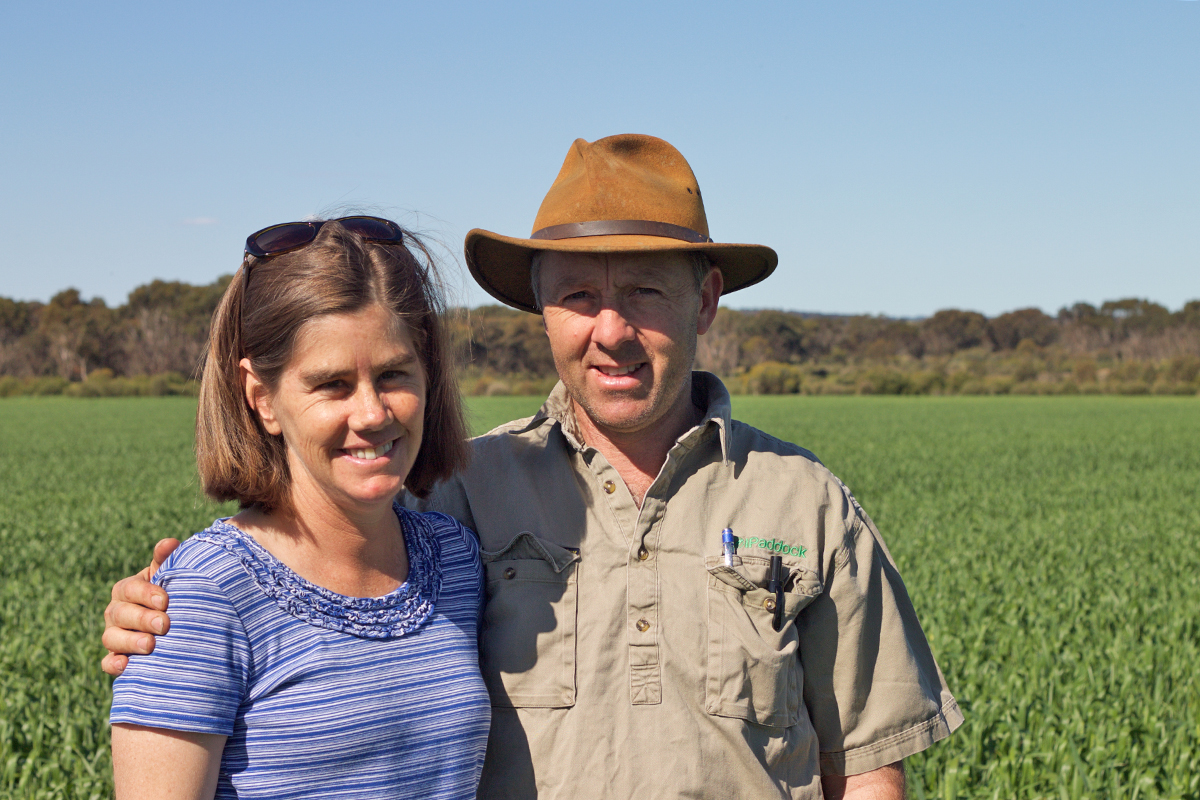 Mic and Marnie Fels have developed a farming system where herbicides are used to back-up their cultural practices, rather than the other way around.