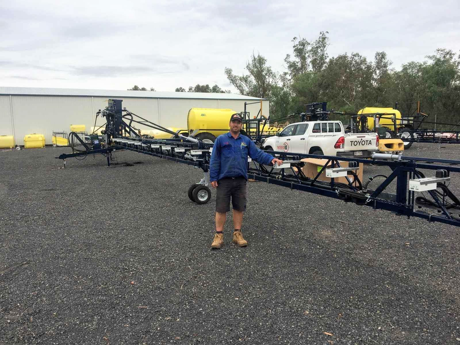 Vertical iHSD test results and the WEEDit