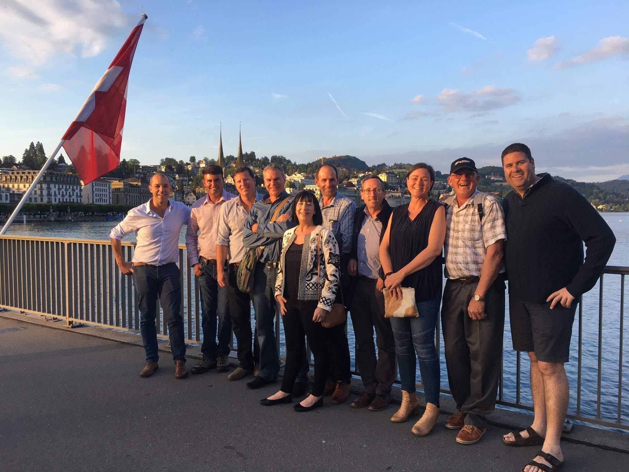Syngenta Growth Awards study tour to the UK and Switzerland