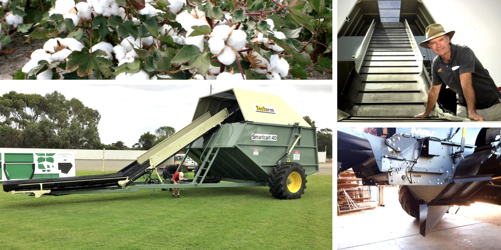 Wagga WeedSmart Week; chaff lining + carts + cotton update