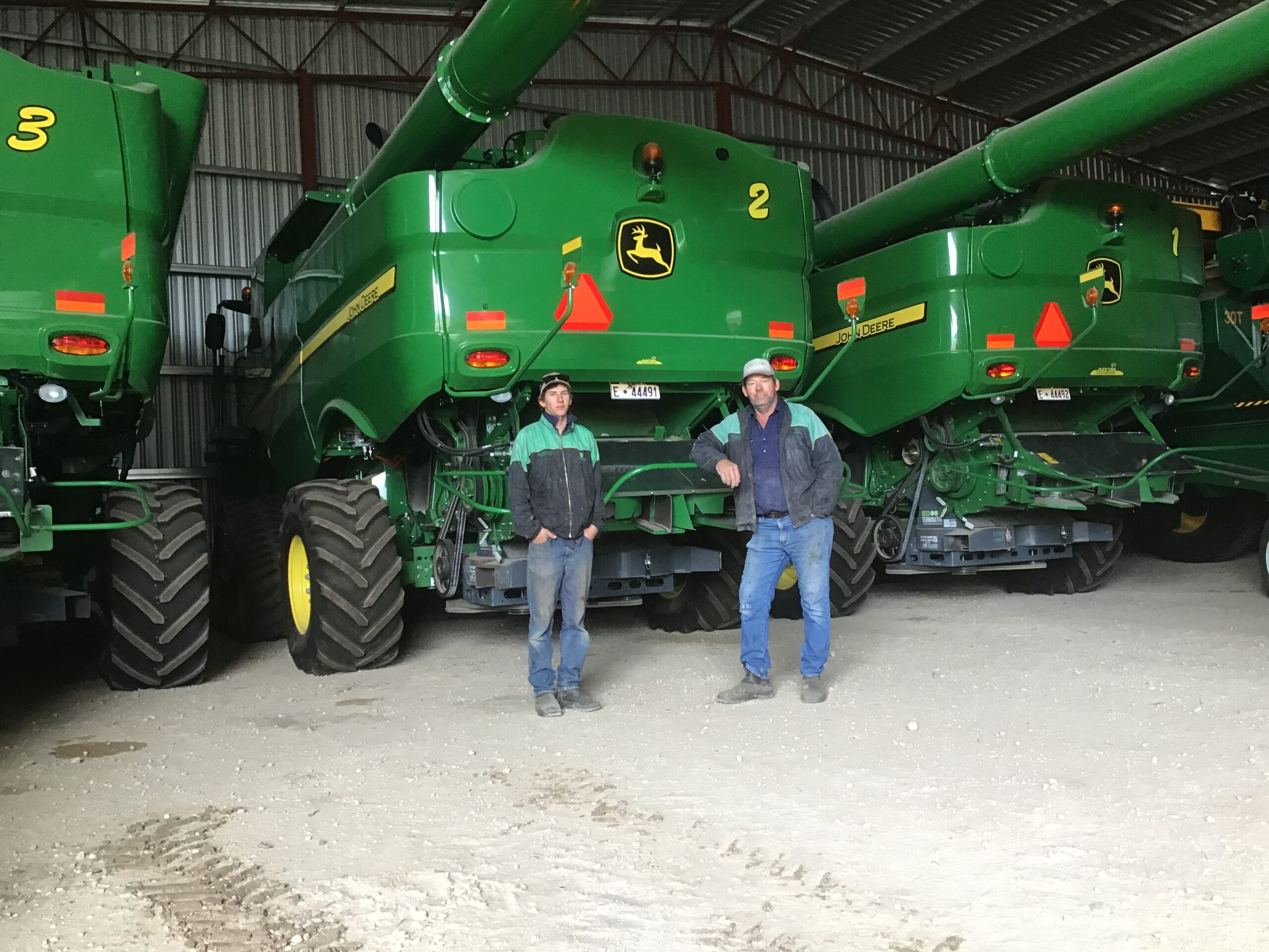 Weed seed impact mill update with Ben White and farmer case studies