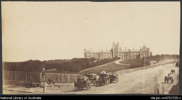 University Avenue c. 1880's