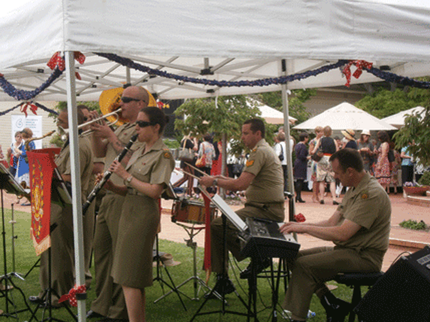 Canberra Luncheon - Duntroon Band