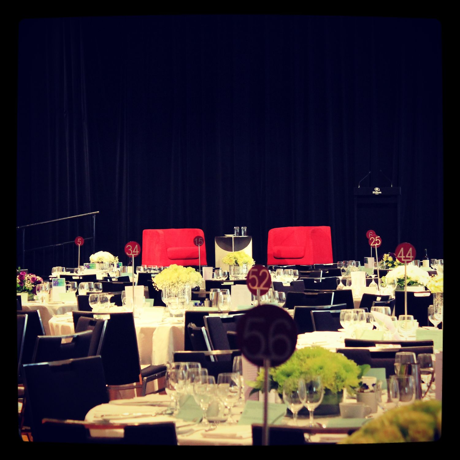 Mothers' luncheon - room pre event