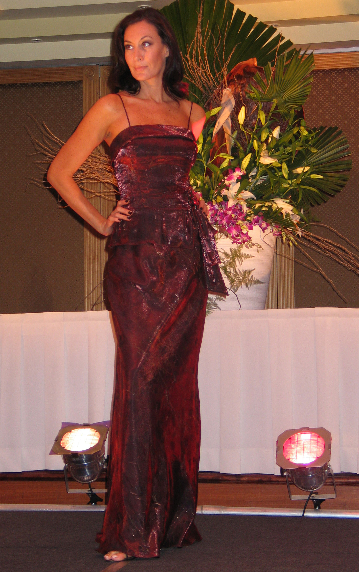 Port Hacking Committee fashion show model
