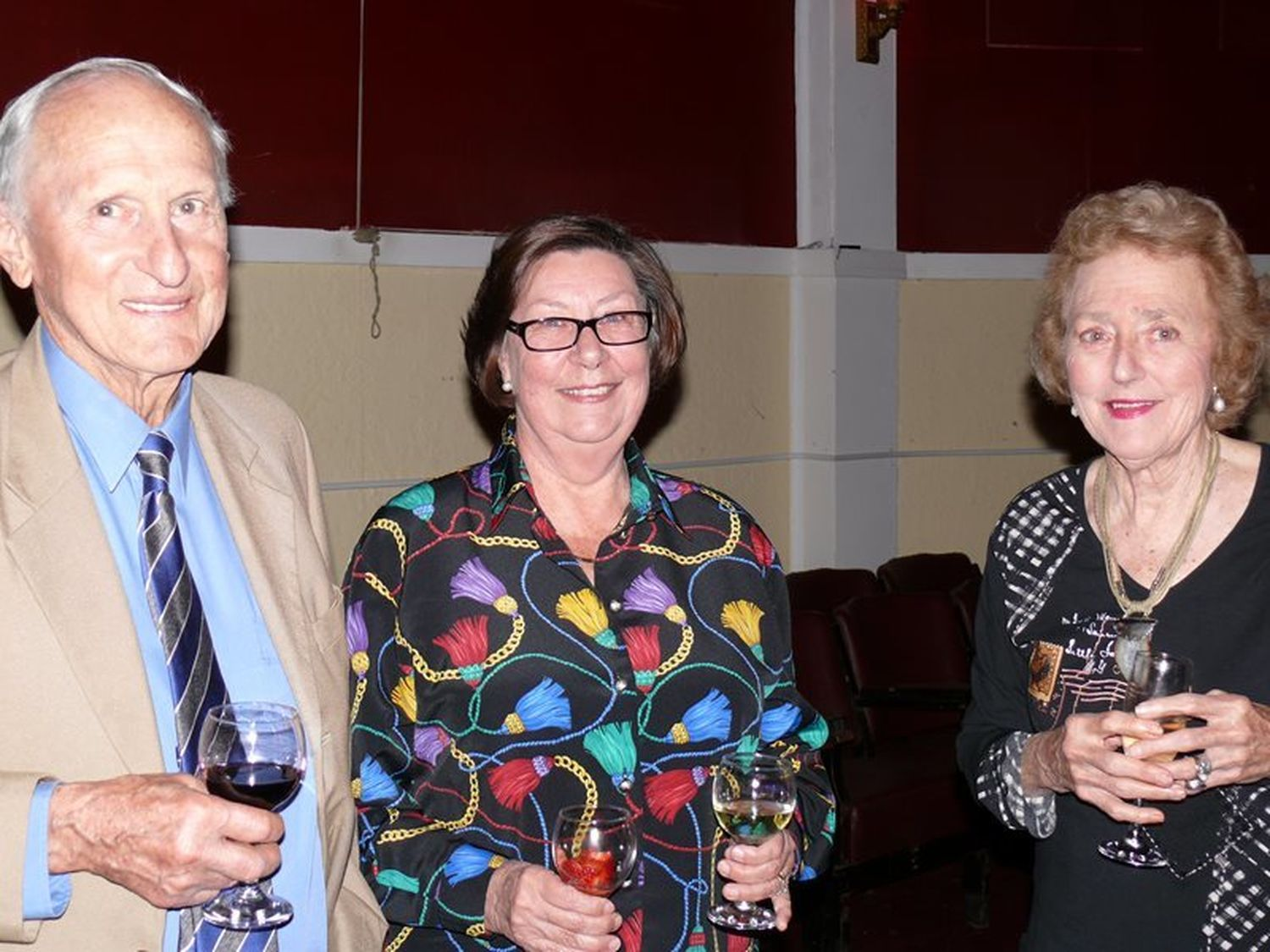Bill and Beth Tanner with Myra Smits