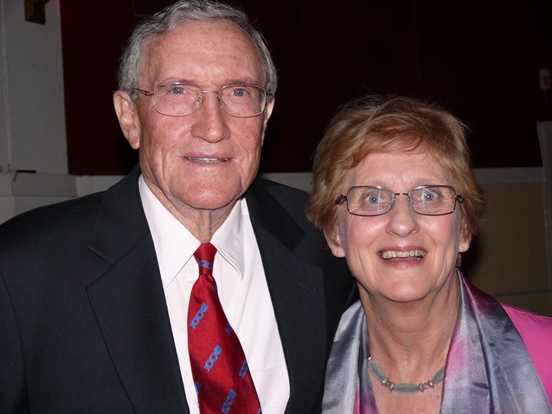 David Brownhill and Jennifer Philps