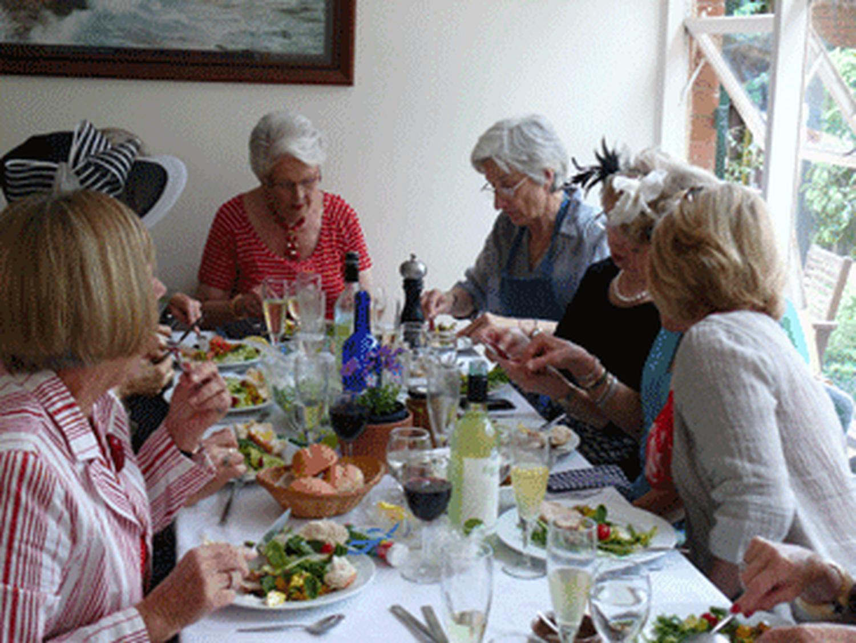 Racquet Committee luncheon