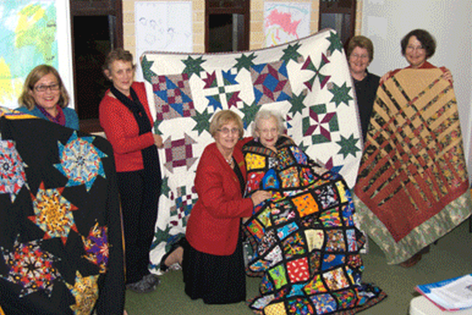 Thumbelina Quilters with Naomi