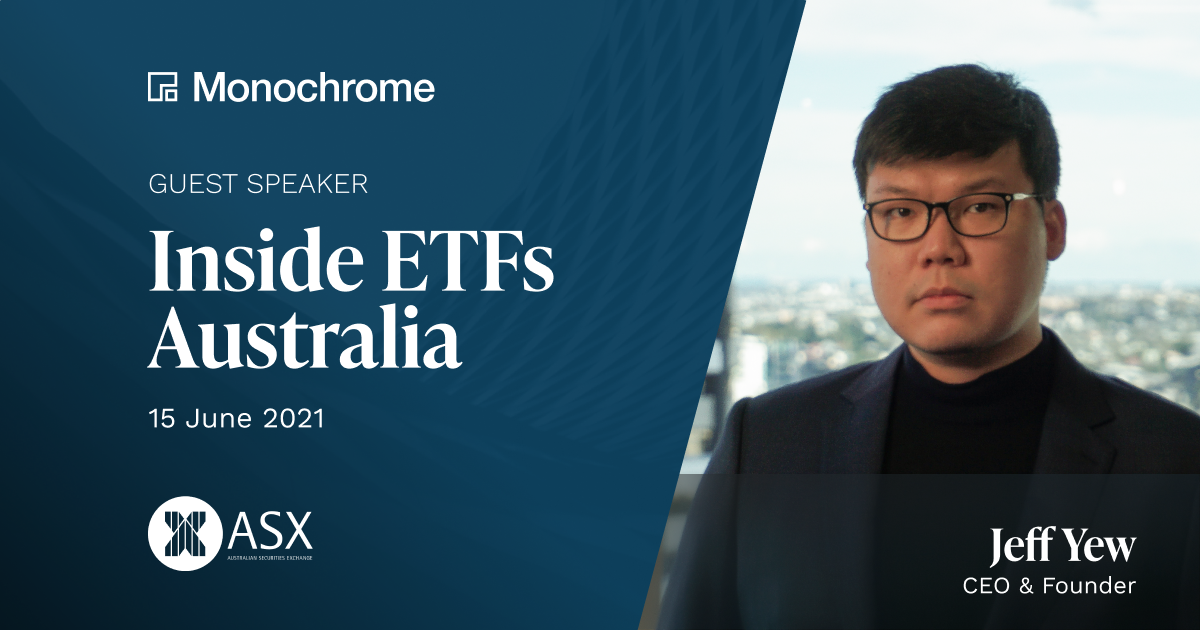 Monochrome CEO Makes the Case for a Bitcoin ETF in Australia at Nation's First Inside ETFs Conference