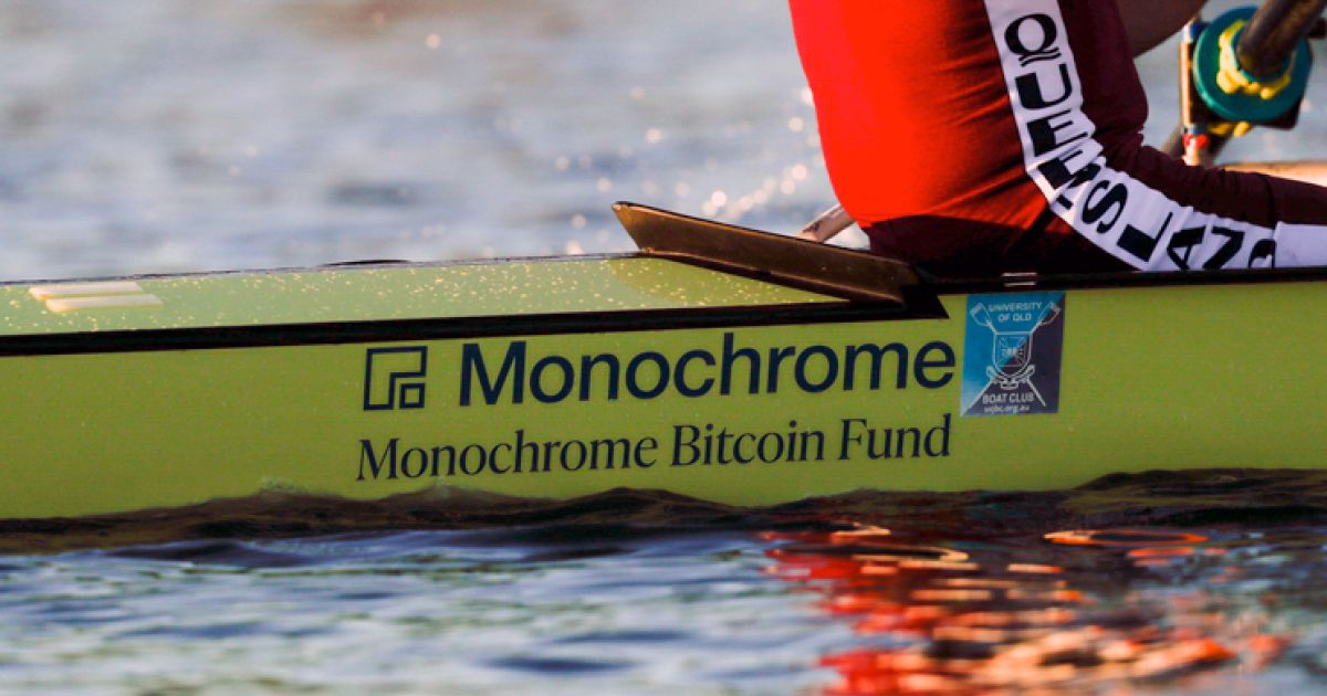 Monochrome Asset Management supports Queensland Masters Men's Eight in 2021 Australian Masters Rowing Championships