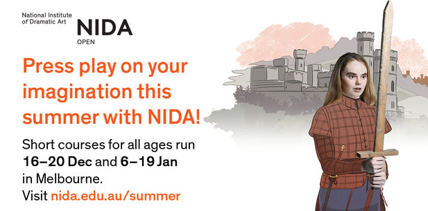 National Institute of Dramatic Art (NIDA Open) Summer Holiday Courses