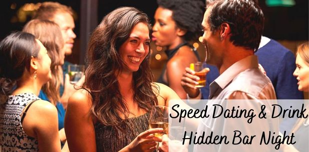 ❤ SPEED DATING 🍷 (Hidden Bar) Free Drink 🥂 Find Your Companion (35-55yrs)