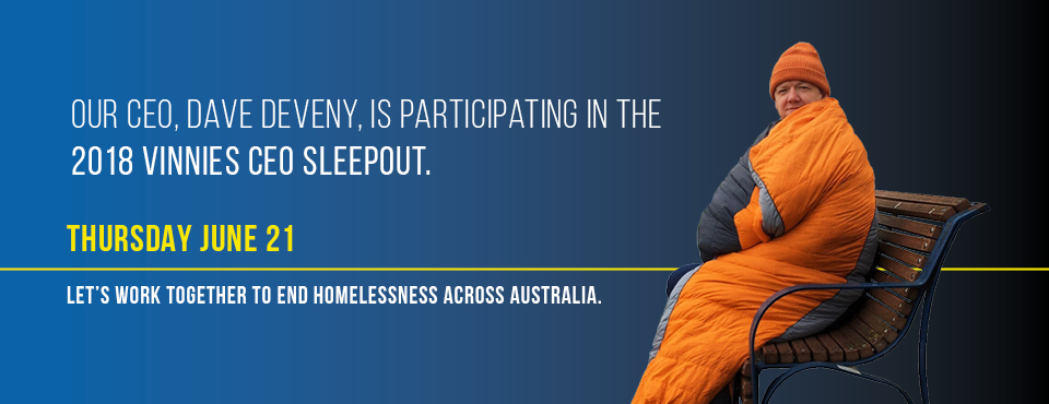 2018 Vinnies CEO Sleepout