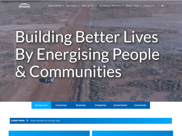 ENGIE Australia & New Zealand Foundation Website Build