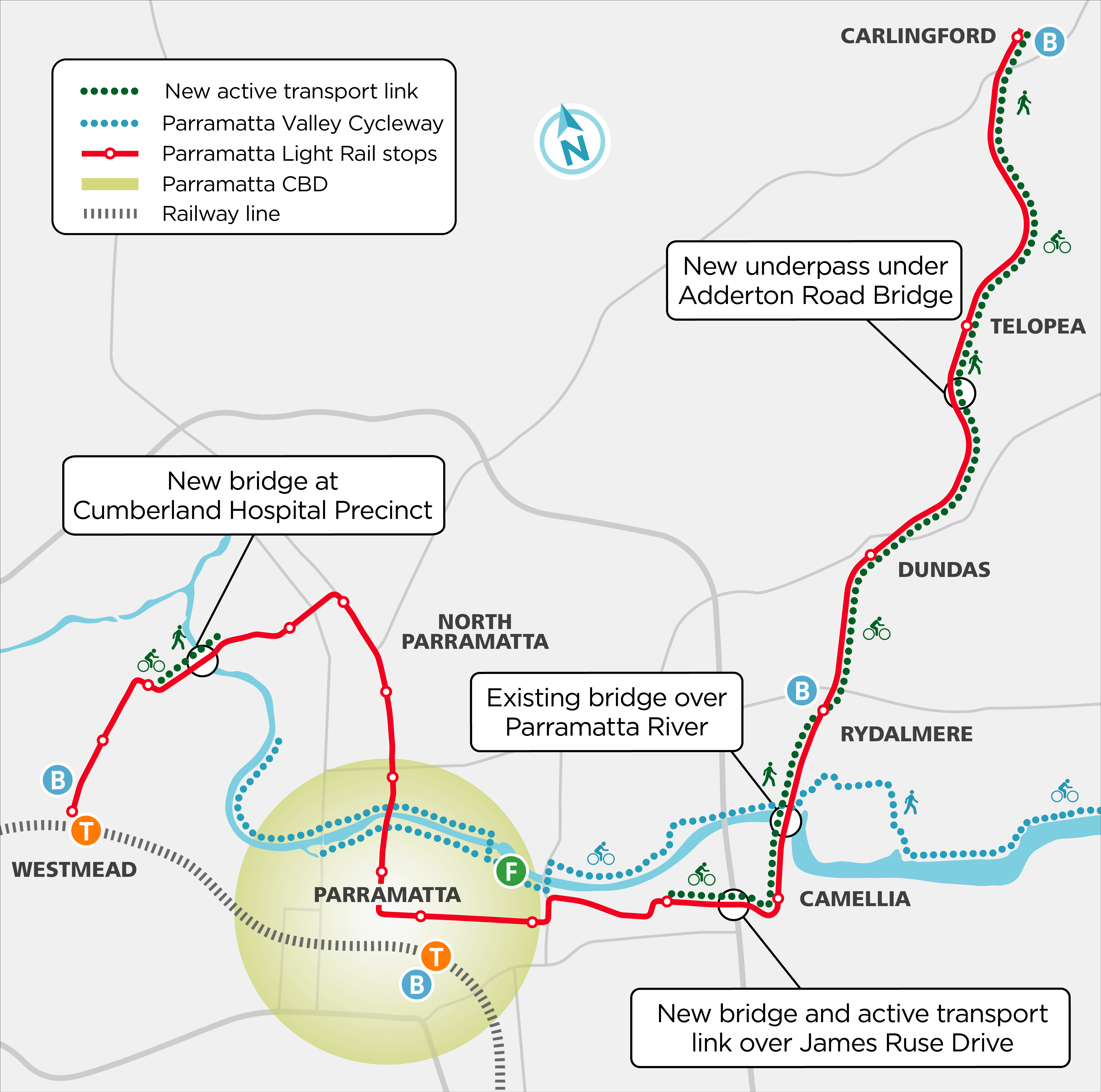 Active Transport Link Map - May 2021