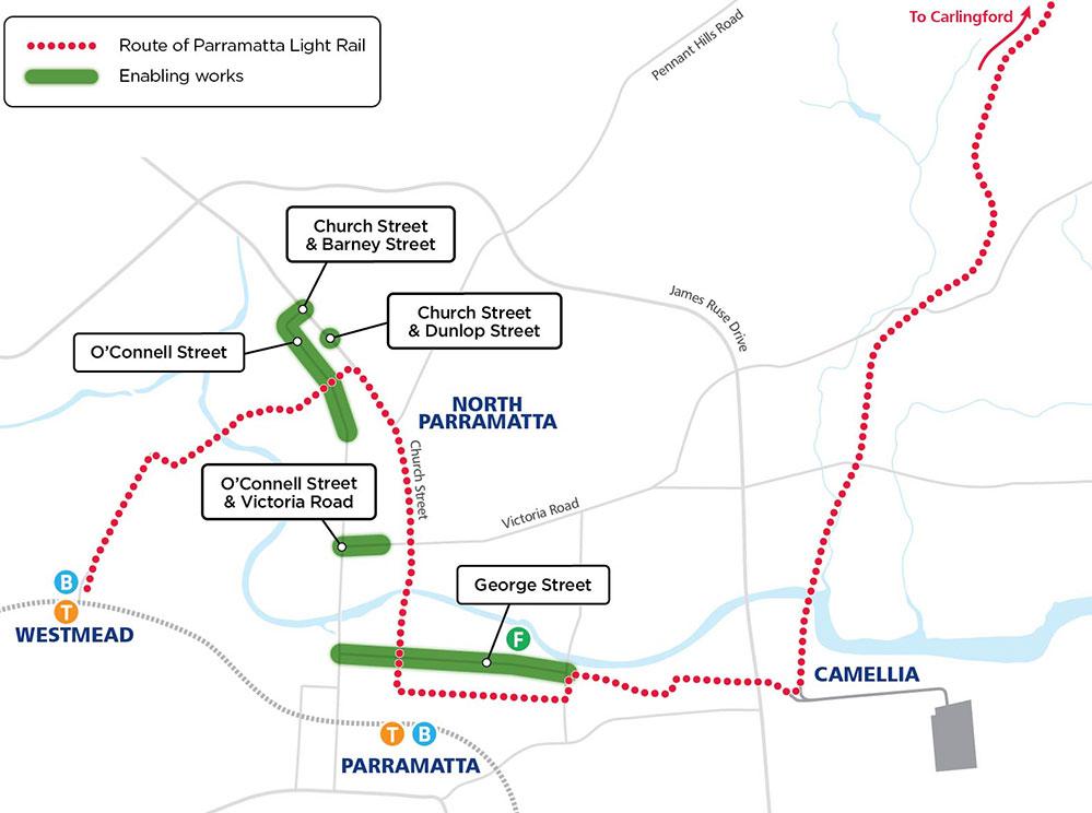 Enabling Road Works Map