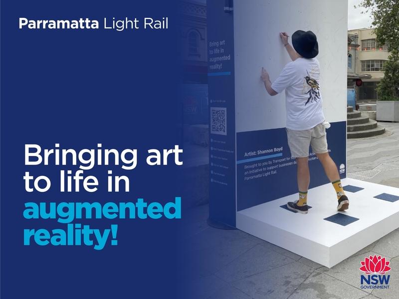 Augmented reality in Parramatta