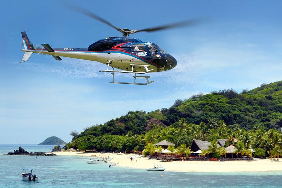 MYSTERY HELICOPTER OR SEAPLANE FLIGHT