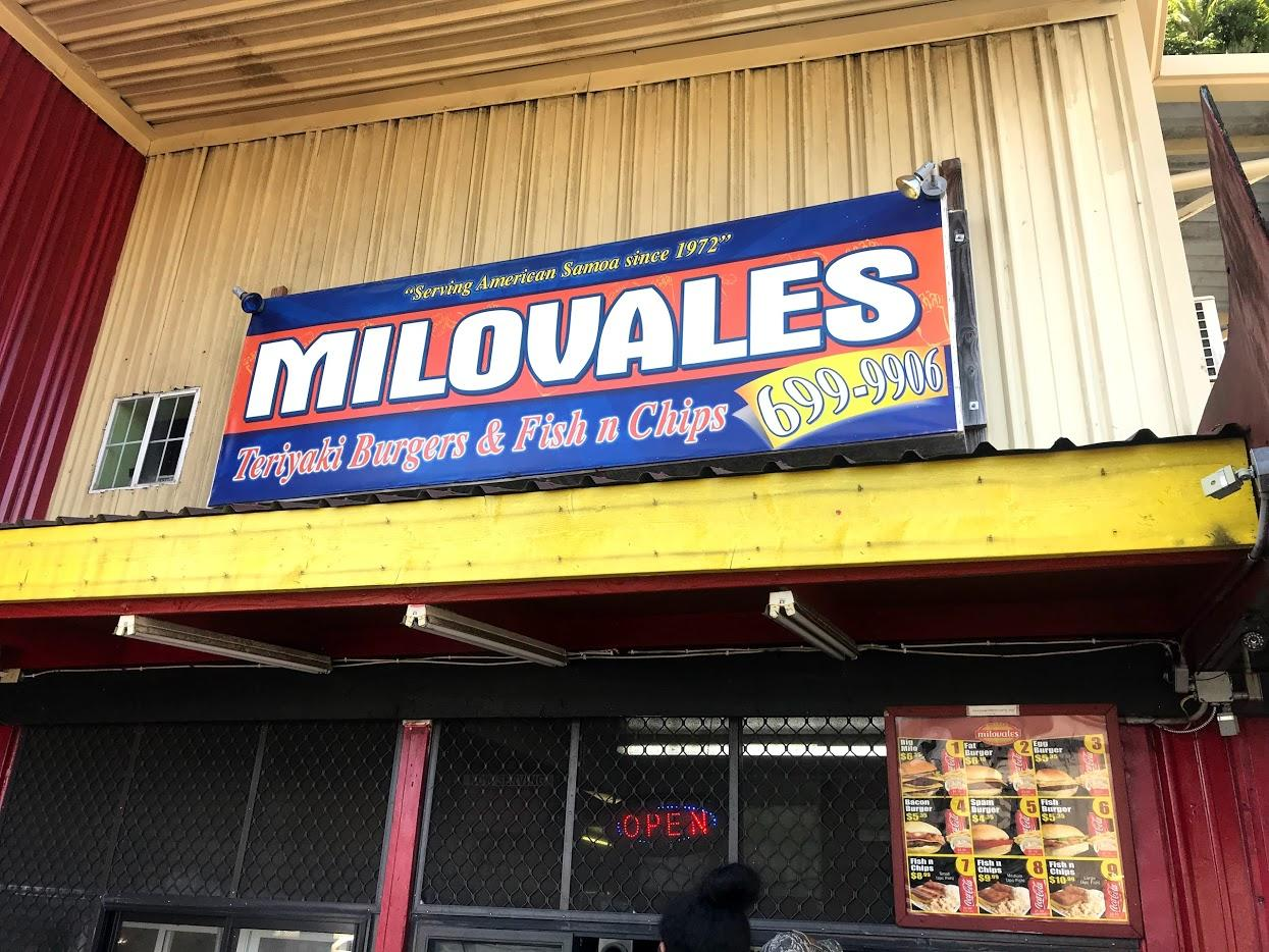 Milovale's Burgers & Fish n Chips