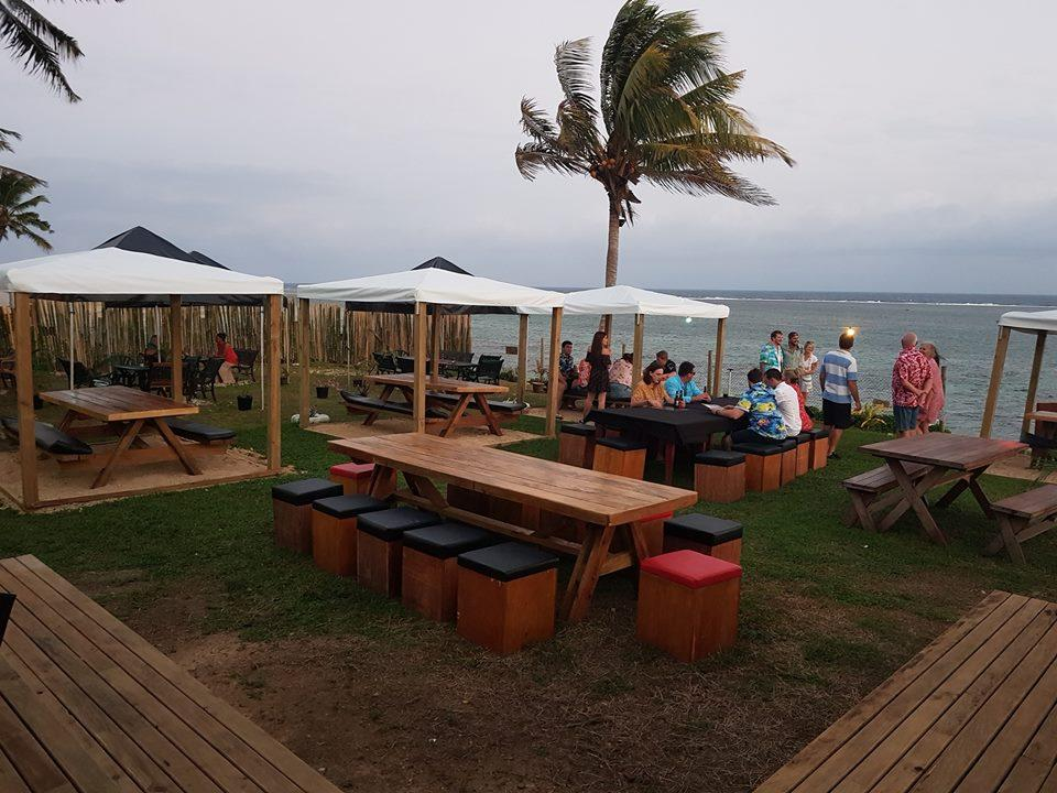 Beach Bar & Grill, Fijian Thai & French Restaurant
