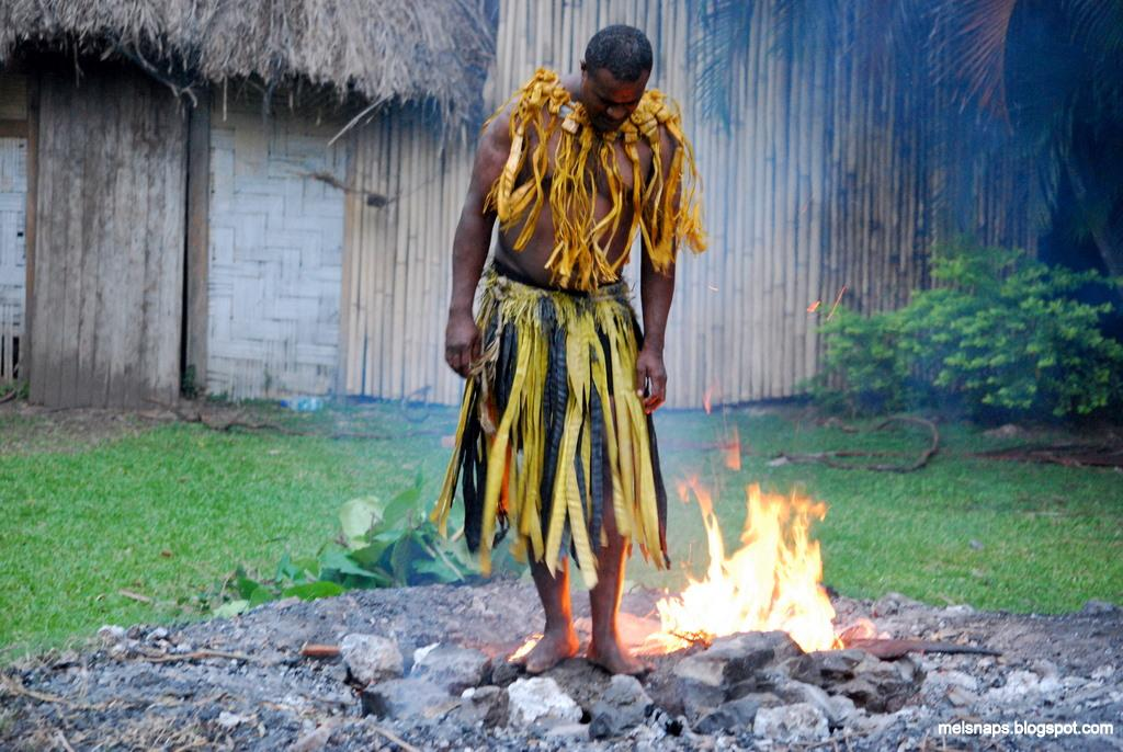 Fire walkers of Beqa Island
