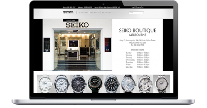 Seiko Boutique Website