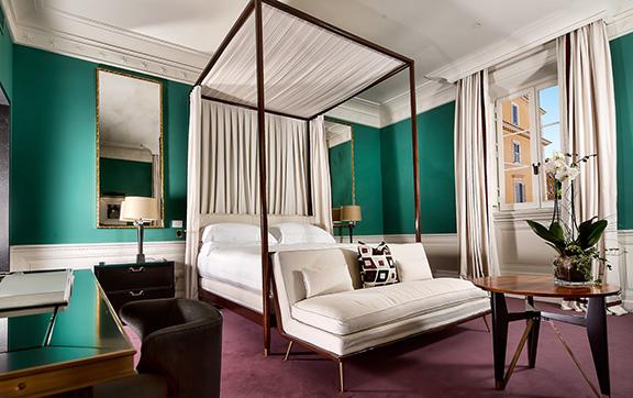 Luxury Suites at J.K Place Rome