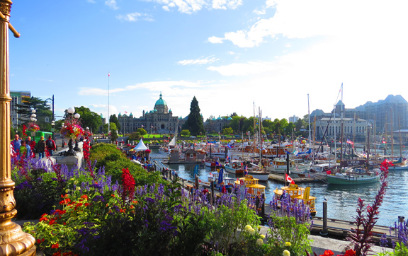 Faimont-Empress-Canada-View-of-Harbor