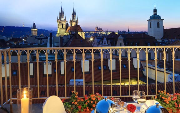 Grand-Hotel-Bohemia-Prague-Terrace-View-from-a-Suite