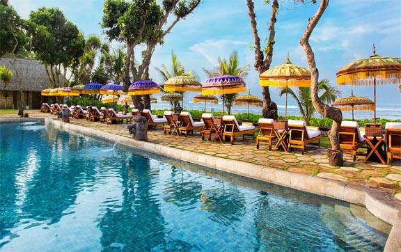 Oberoi Hotel Bali Pool View