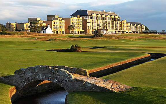 Old Course Hotel St Andrews Scotland Exterior of the Hotel