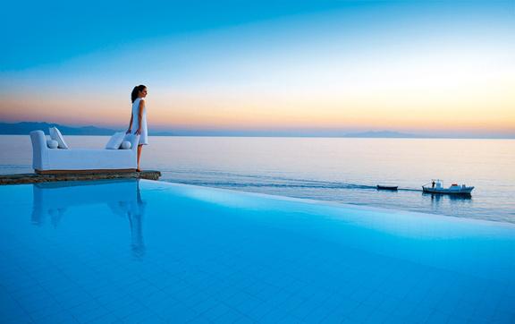 Petasos-Beach-Resort-and-Spa-Mykonos-Greece-View-Sunset