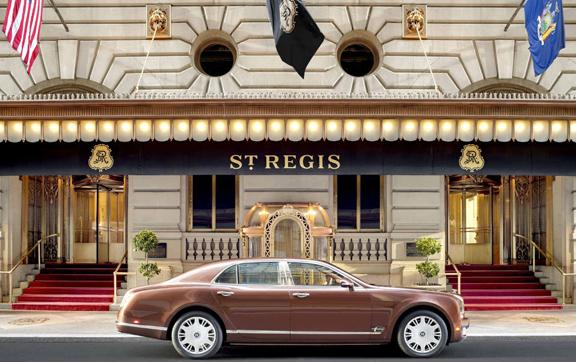 Main Entrance shot of the St. Regis New York, USA