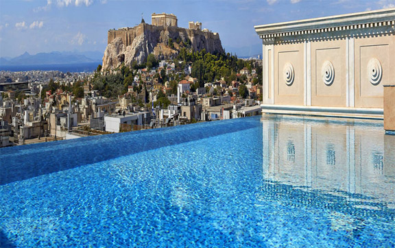 king-george-hotel-athens-pool