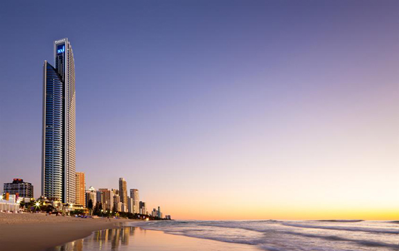 Luxury travel accommodation, Soul Gold Coast exterior fo towers