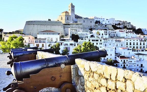 The Party Capital of Spain, Ibiza. Visit it with Silversea