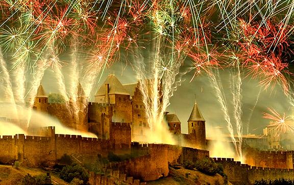 festival de Carcassonne Fireworks