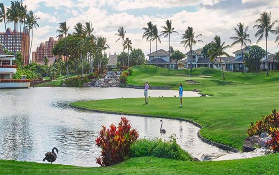 Golf, four seasons ko olina